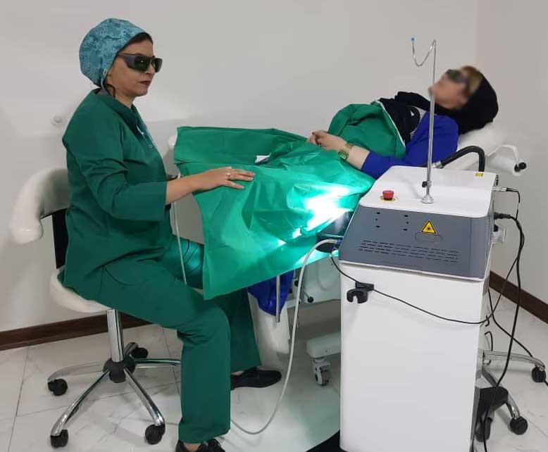 جراح زیبایی زنان دکتر شیوا مدنی حسینی