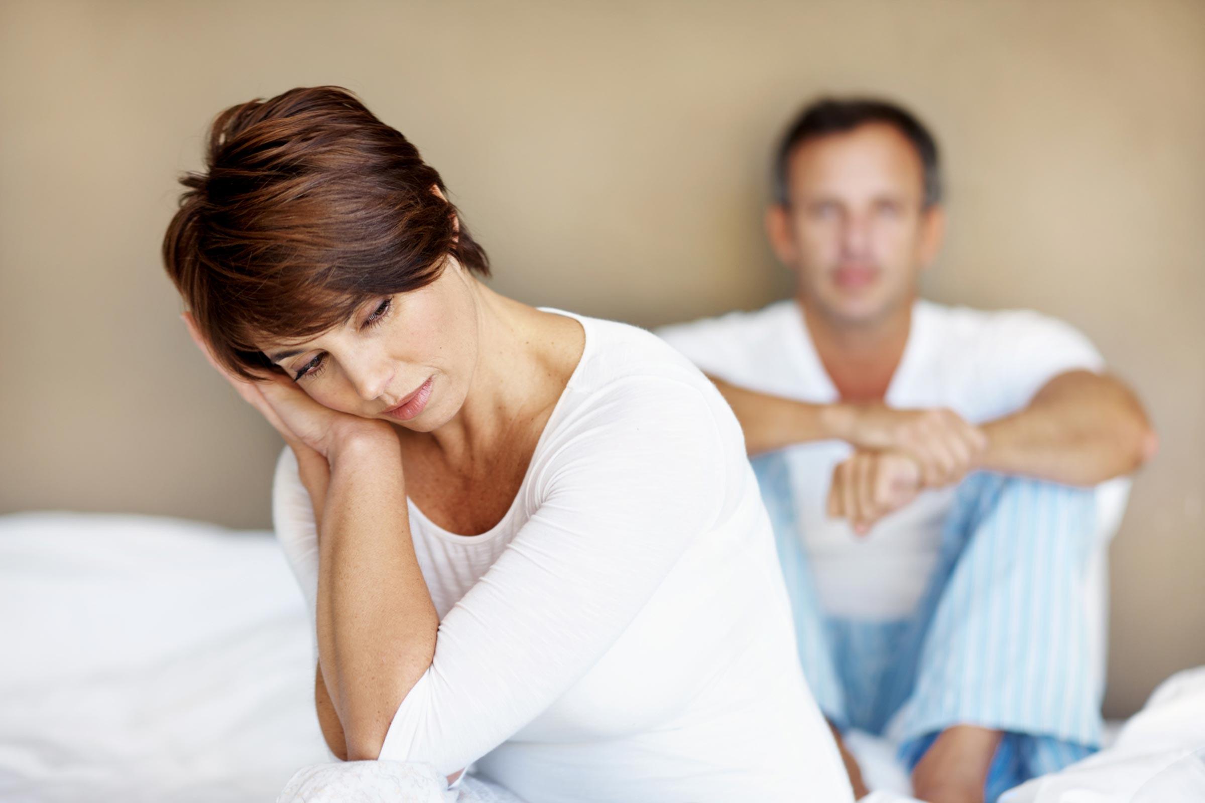 درمان کاهش میل جنسی و نرسیدن به ارگاسم در زنان